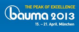 bauma 2013 Logo