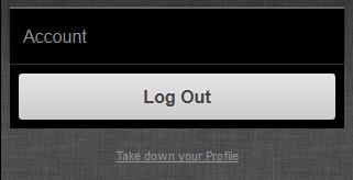 Take down your Lulu Profile Link