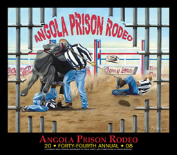 Angola Prison Rodeo Poster