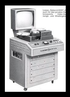 Optacord 500 Videorekorder von Loewe