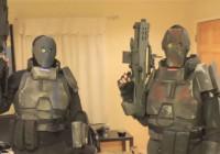 Sciencefiction Soldatenrüstung