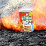 Rezept: Dosenravioli an Lava