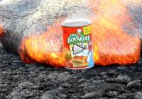 Dosenravioli in Lava