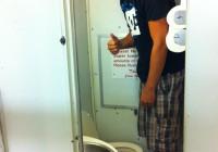 kleinste Toilette der Welt
