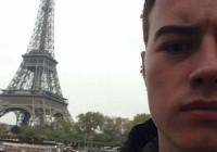 Luke Harding vor dem Eiffelturm