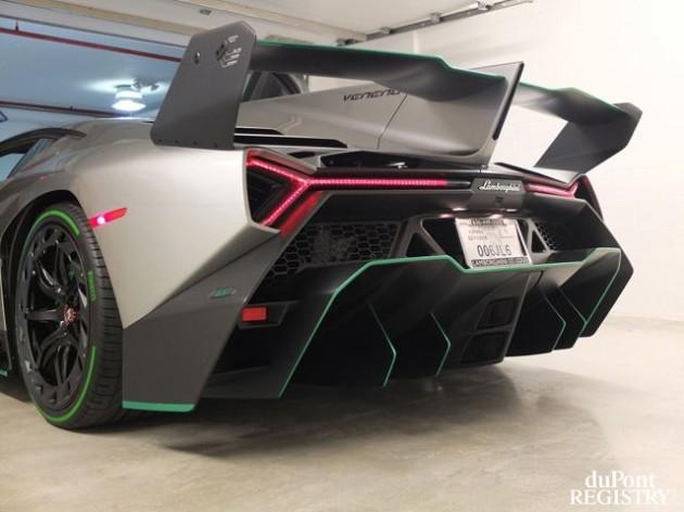 Lamborghini Veneno Heck
