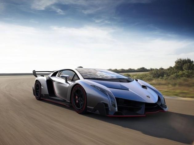 Lamborghini Veneno Konzeptgrafik