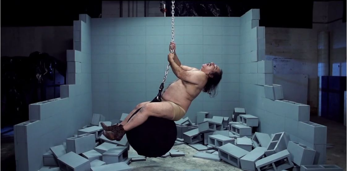 Ron Jeremy Wrecking Ball Parodie