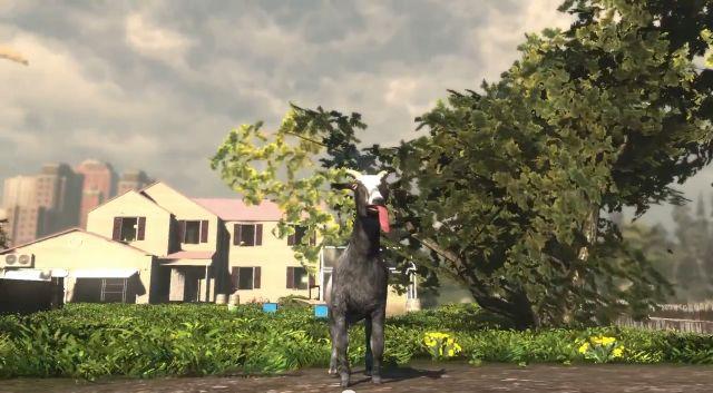 Ziegensimulation Goat Simulator